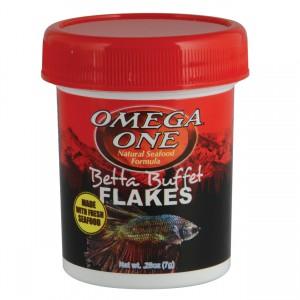Betta Buffet Flakes - 0.28 oz