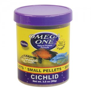 Cichlid Pellets - Small - 3.5 oz