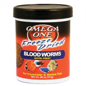 Freeze-Dried Bloodworms Nutri-Treat - 0.46 oz