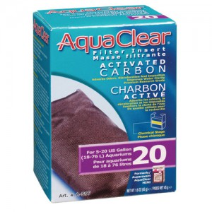 Activated Carbon Filter Insert for AquaClear 20/Mini - 1 pk