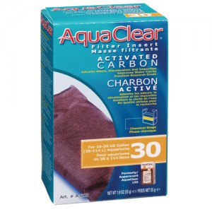 Activated Carbon Filter Insert for AquaClear 30/150 - 1 pk