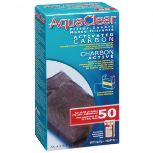Activated Carbon Filter Insert for AquaClear 50/200 - 1 pk