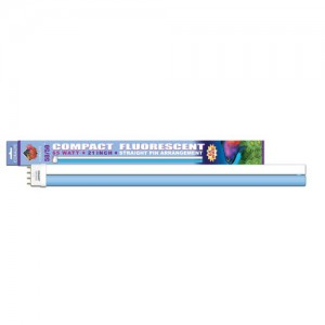 """50/50 Compact Fluorescent Lamp - Straight Pin - 65 W - 21"""""""