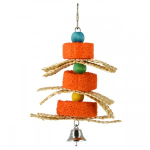 Birdie Jingle Pumpkin Sponge Spinner