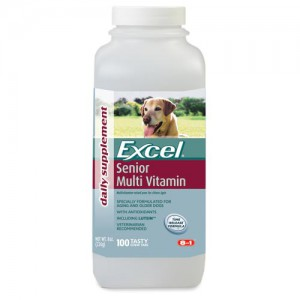 Multi-Vitamins for Senior Dogs - 100 Tabs