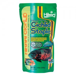 Cichlid Staple - Medium Pellets - 8.8 oz