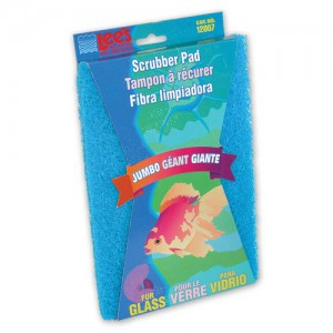 Coarse Scrubber Pad for Glass Aquariums - Jumbo