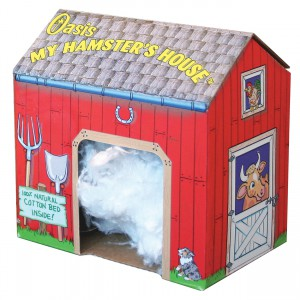 My Hamster House - Red Barn