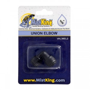 Elbow Connector for Misting Systems - 3/8""