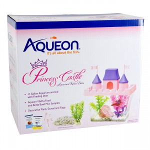 Betta Princess Castle Aquarium Kit