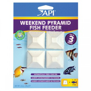Weekend Pyramid Fish Feeder - Up to 3 Days