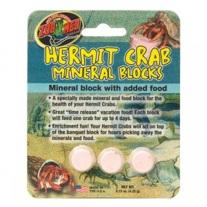 Hermit Crab Mineral Blocks - 3 pk