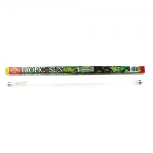 5,500K Tropic Sun T8 Fluorescent Lamp - 17 W - 24""