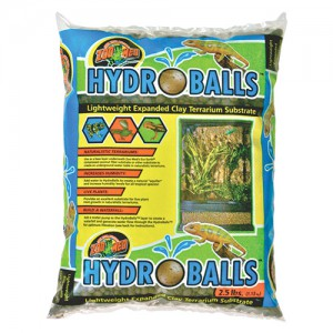 HydroBalls Lightweight Expanded Clay Terrarium Substrate - 2.5 lb