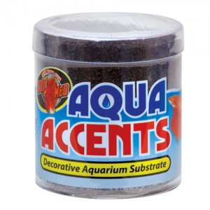 Aqua Accents Decorative Substrate - Midnight Black Sand - 0.5 lb