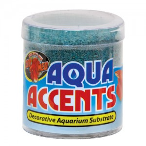 Aqua Accents Decorative Substrate - Terminator Teal Sand - 0.5 lb