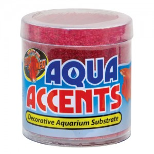 Aqua Accents Decorative Substrate - Radical Red Sand - 0.5 lb