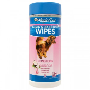 Magic Coat Essential Coconut Oil Wipes - 50 ct