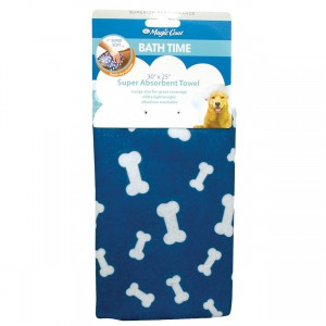 Magic Coat Super Absorbent Towel - Blue