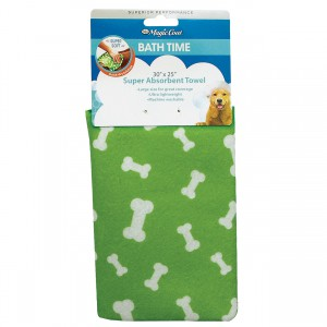 Magic Coat Super Absorbent Towel - Green