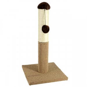 Super Catnip Carpet and Sisal Scratching Post - 21""