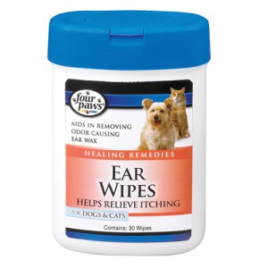 Ear Wipes for Dogs & Cats - 30 pk