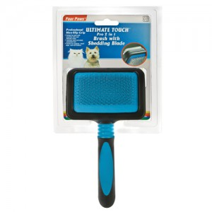 Ultimate Touch Pro 2 in 1 Brush with Shed 'N Blade - Small