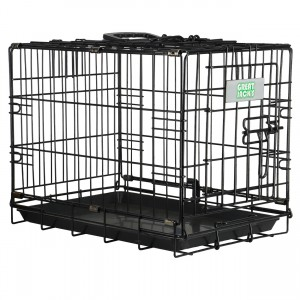 Deluxe Single Door Wire Crate - 19""
