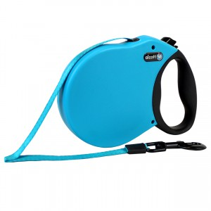 Adventure Retractable Leash - Blue - Small