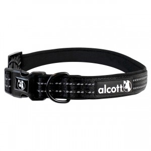 Essentials Adventure Collar - Black - Medium