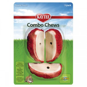 Kaytee Combo Chews Apple Slices - 3 pk