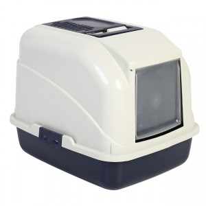 Hooded Litter Pan with Filter and Scoop