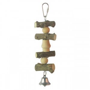 Birdie Jingle Pepper Wood Peck Pal - Style A - Small