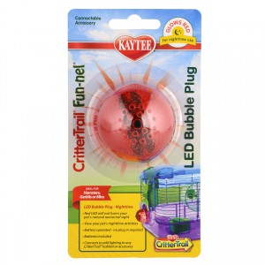 CritterTrail Fun-nel LED Bubble Plug - Nighttime