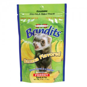 Bandits Premium Ferret Treat - Banana Flavor - 3 oz
