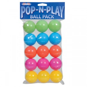 Pop-N-Play Ball Pack - 15 pk