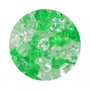 Crystal Gems Acrylic Gravel - Lucky Charm - 5 oz