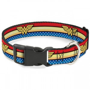 Wonder Woman Logo Collar - Medium