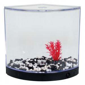 BettaArc LED Betta Kit - Black - 1.2 L