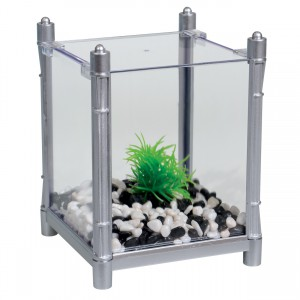 BettaBloc Stackable Betta Kit - Silver - 1 L