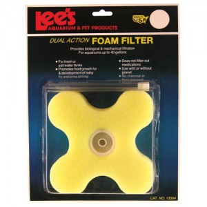 Dual Action Foam Filter - Clover - Up to 40 gal