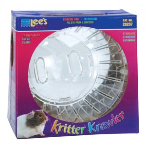 Kritter Krawler Exercise Ball - Transparent - Standard