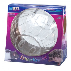 Kritter Krawler Exercise Ball - Transparent - Jumbo
