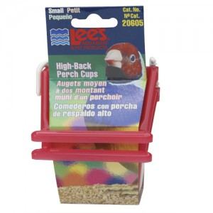 High-Back Perch Cup - Assorted - Small - 2 pk