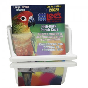 High-Back Perch Cup - Assorted - Large - 2 pk