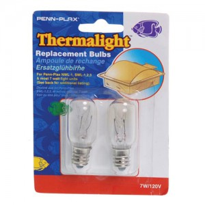 Thermalight Replacement Lamps - 7 W - 2 pk
