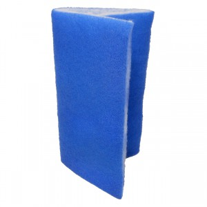 "Blue Bonded Filter Pad - 24"" x 15"""