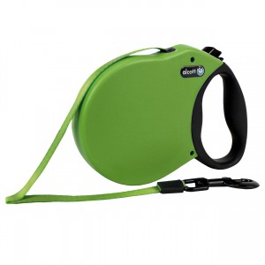 Adventure Retractable Leash - Green - Medium