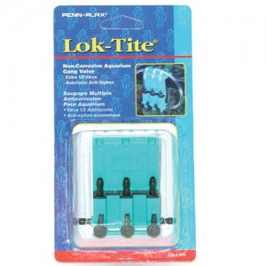 Lok-Tite Gang Valve - 3 Outlet