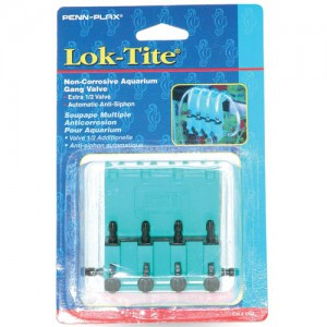 Lok-Tite Gang Valve - 4 Outlet